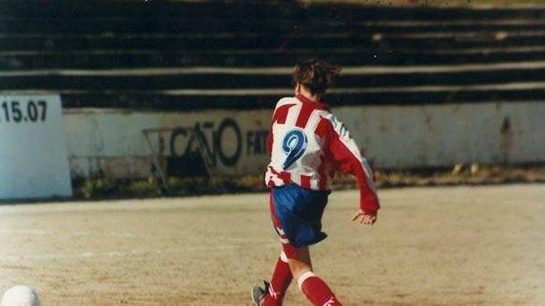 Foto: Fernando Torres, de niño, en una foto difundida por él mismo en redes sociales