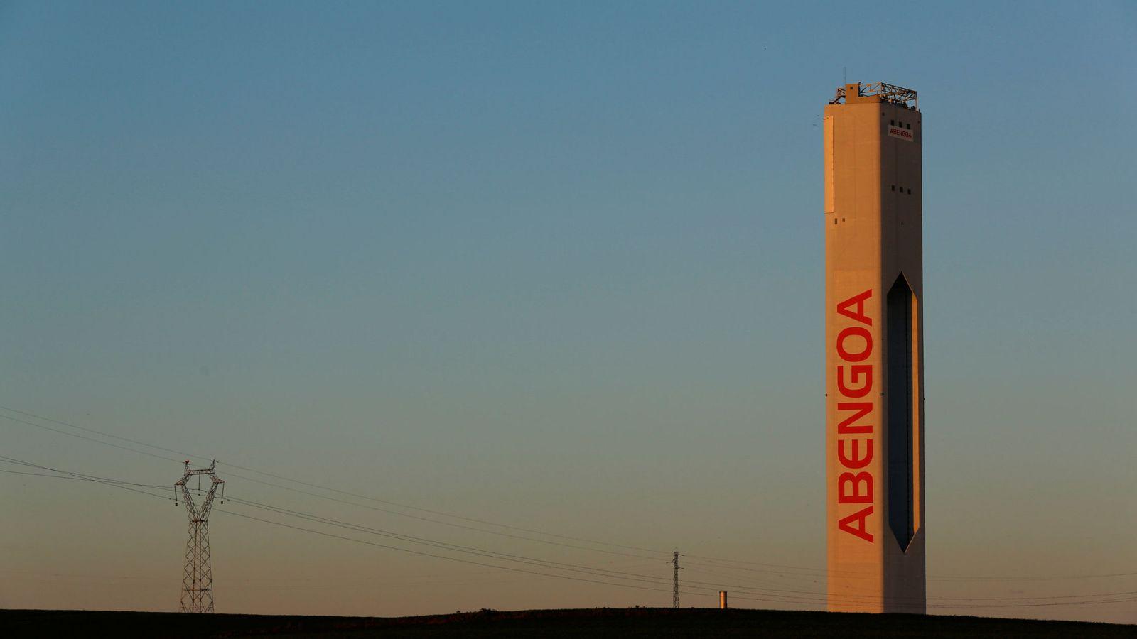 Foto: Torre solar de Abengoa. (Reuters)