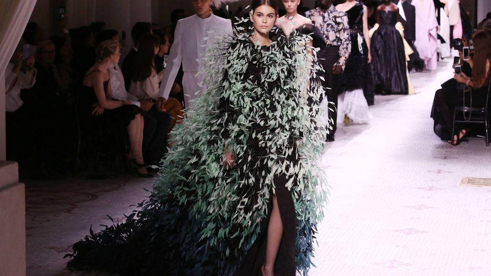 Foto: Kaia Gerber para Givenchy. (Cordon Press)