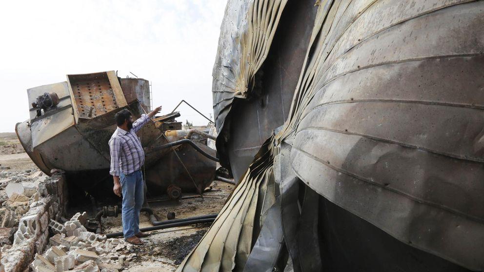EEUU bombardea por primera vez tanques de petróleo del Estado Islámico