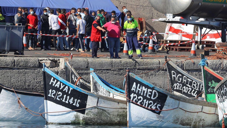 La crisis migratoria con Marruecos revive en Canarias