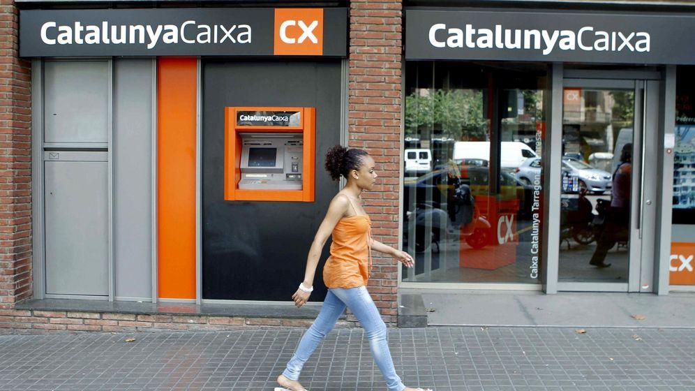 Foto: Sucursal de CatalunyaCaixa (Efe)