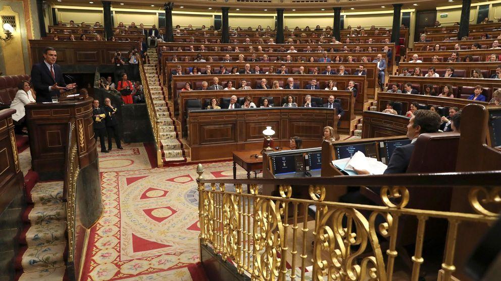 La investidura de Pedro Sánchez, en directo   El debate continúa con ERC y PNV