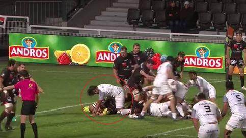 El gran gesto de deportividad en el rugby francés: así se protege a un rival lesionado