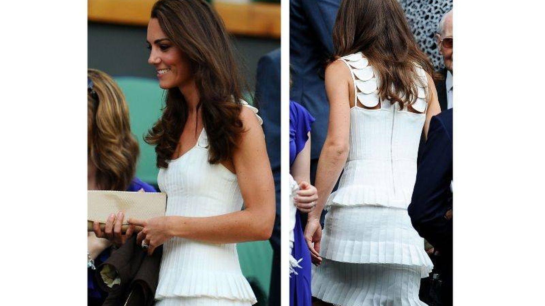 Kate Middleton, Wimbledon 2011. (Getty)