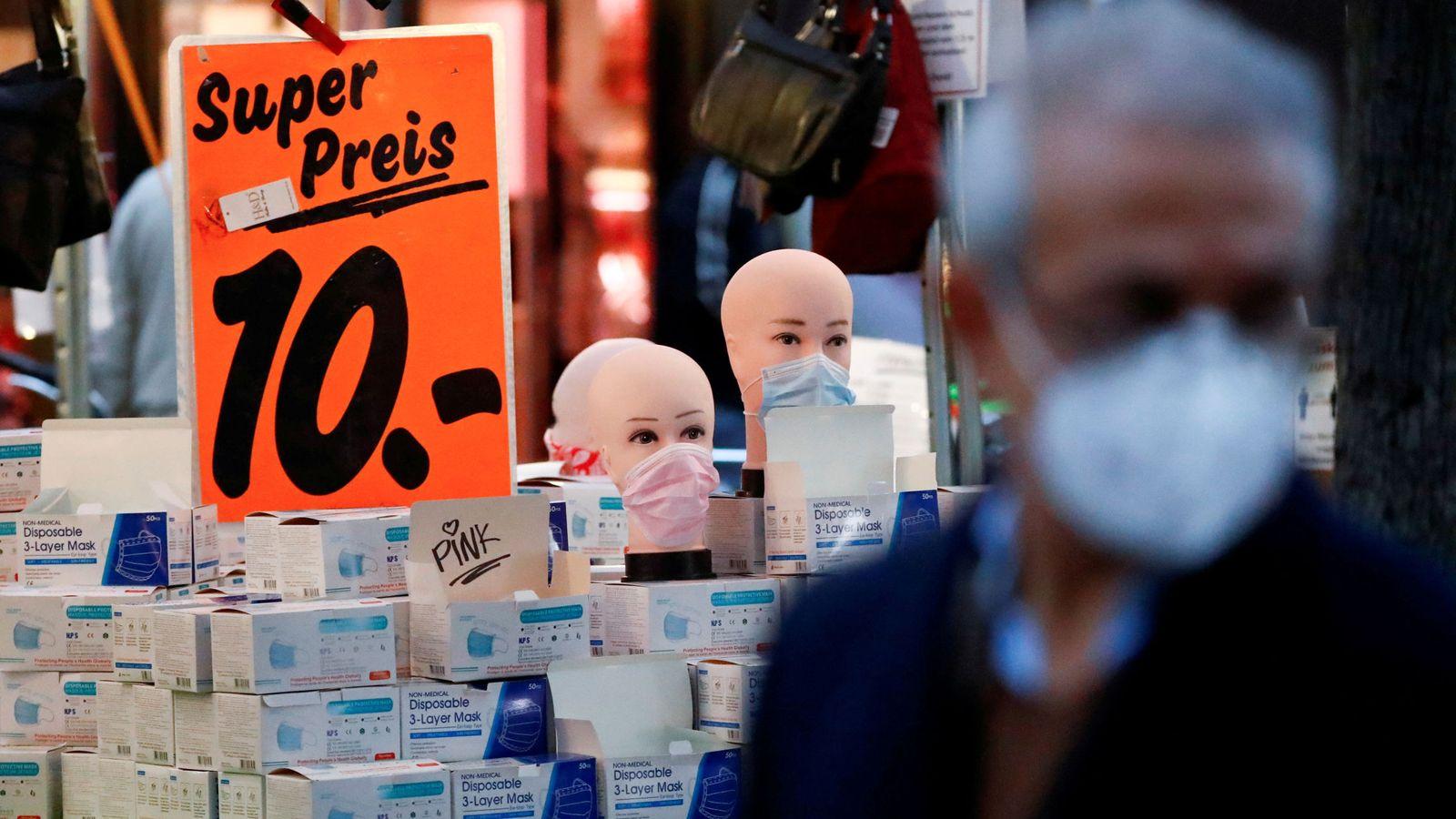 Alemania rebasa el millón de contagios y marca un nuevo récord de muertes diarios