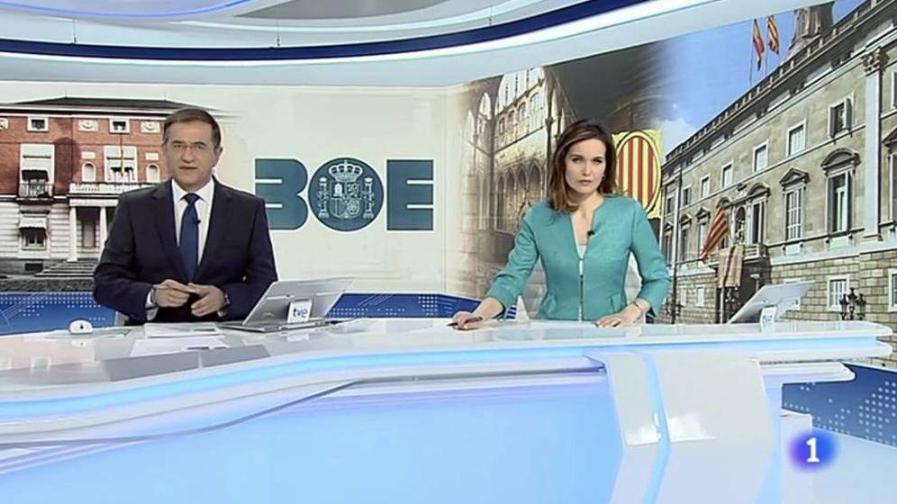 Foto: Pedro Carreño y Raquel Martínez, dos de los presentadores cesados en esta oleada de cambios en TVE.