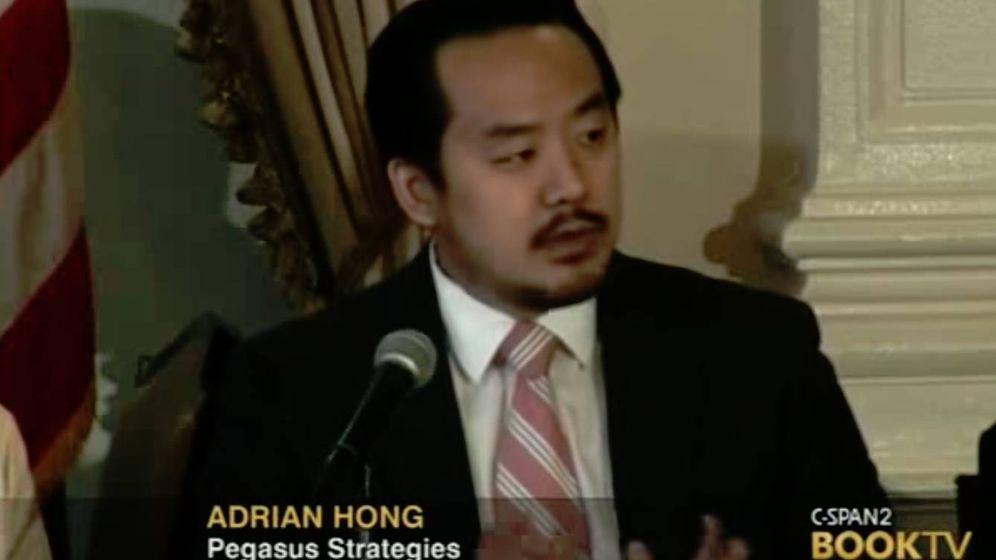 Foto: Adrian Hong, en una conferencia que dio en el año 2012.