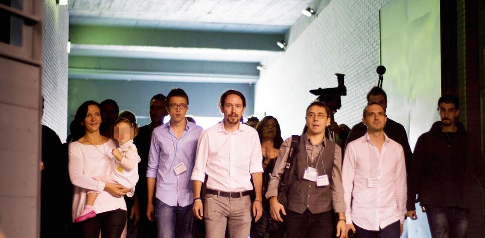 Foto:  Asamblea Ciudadana de Podemos en 2014. (Fotografía: Daniel Muñoz)