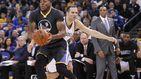 Por una vez esta temporada, el héroe de los Warriors no fue Stephen Curry