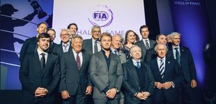 Post de Alonso, en el 'Hall of Fame' :