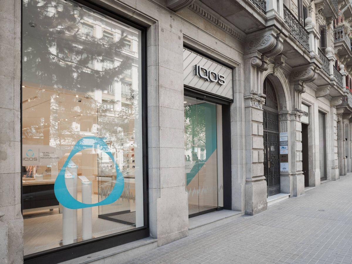 Foto: La tienda de Philip Morris en Barcelona. (Philip Morris)
