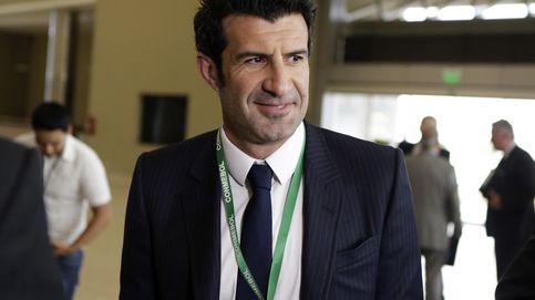 Figo se retira de las elecciones a presidir la FIFA por falta de transparencia