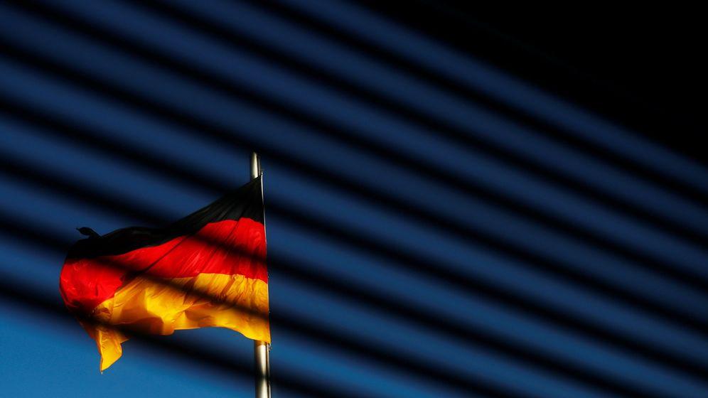 Foto: La bandera alemana. (Reuters)