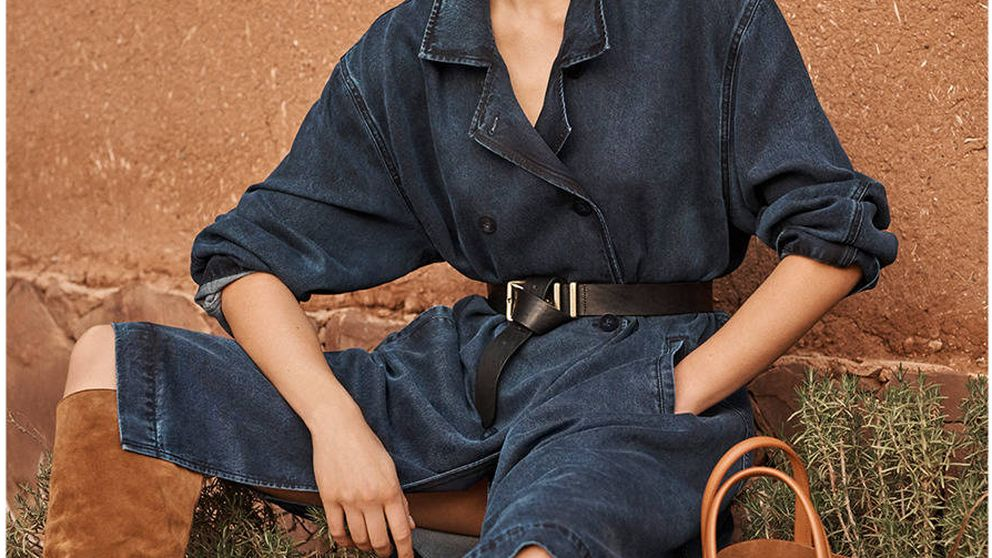 El vestido gabardina de Massimo Dutti que comprarán las que quieren lucir tipazo