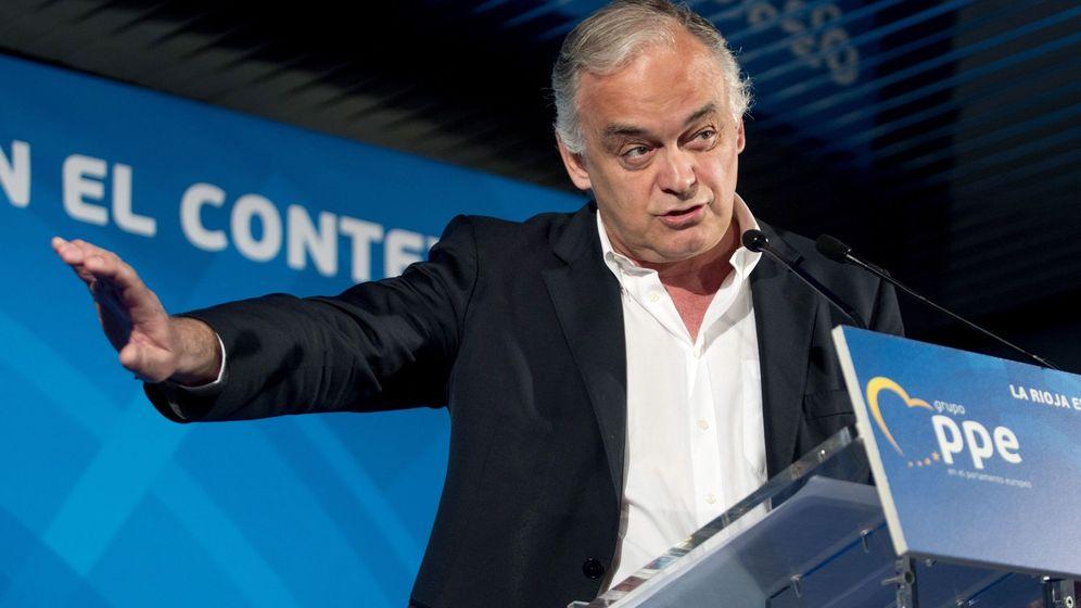 Foto: El portavoz de la Delegación Española del Grupo del Partido Popular Europeo en el Parlamento Europeo, Esteban González Pons. (EFE)