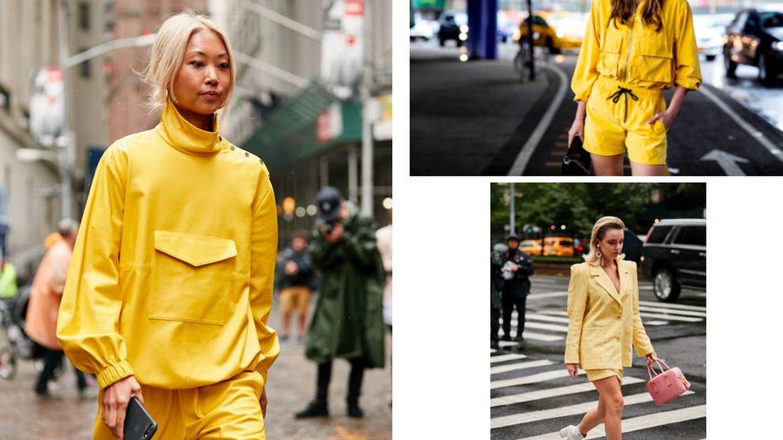 Urbano, sport o working, el amarillo es el protagonista. (Imaxtree)