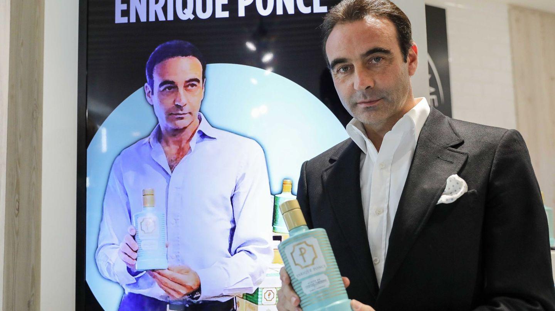 Enrique Ponce, presentando su aceite. (EFE)