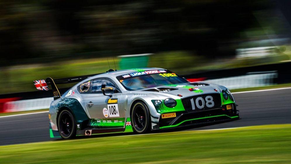 Foto: Andy Soucek cuenta su experiencia con Bentley en las 12 Horas de Bathurst. (Foto: Bentley)