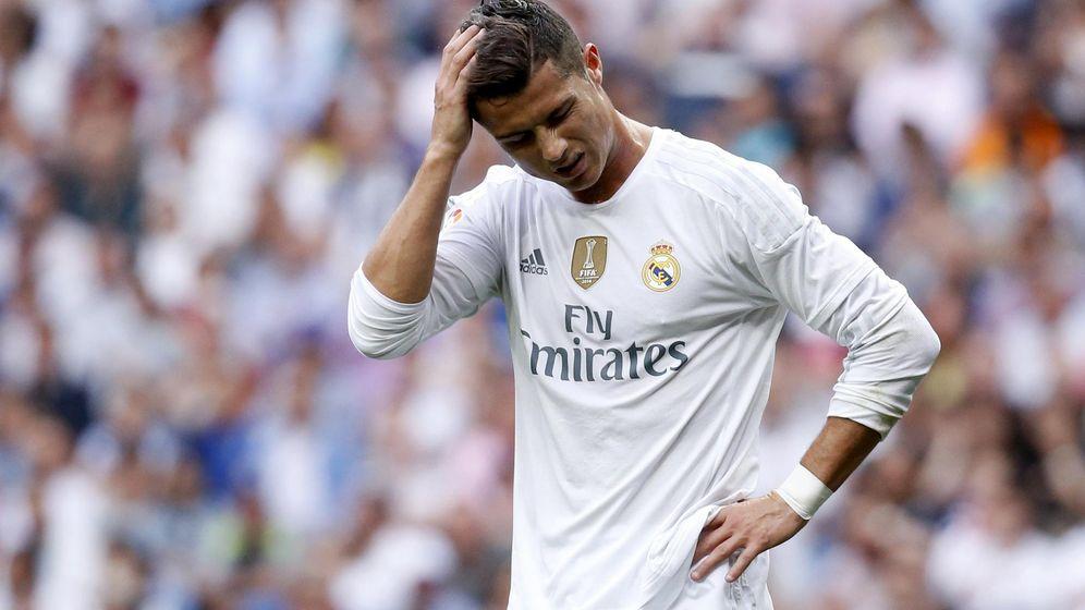 Foto: Cristiano Ronaldo se lamenta durante un partido de la presente temporada (Reuters).