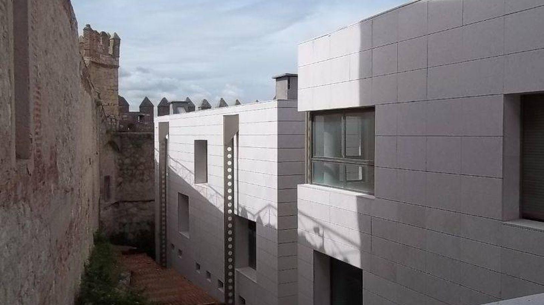 Así es el edificio en el interior del castillo de la Vela. (Ministerio del Interior)