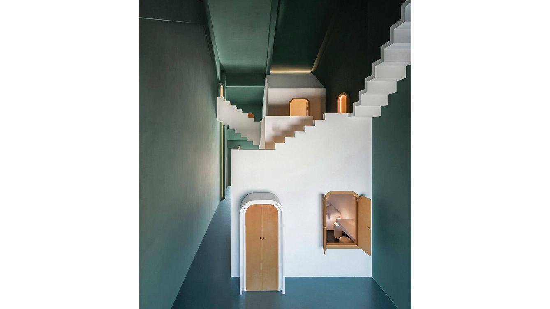 Foto: Las casa de Estudio 10 es una mezcla de ensueño y diversión.