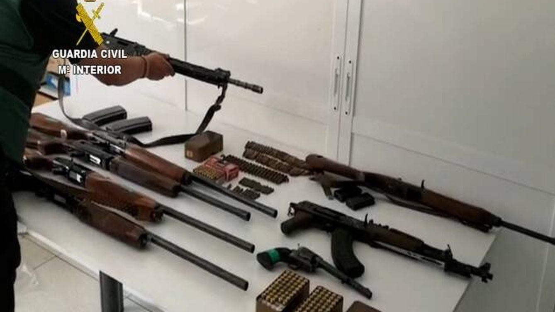 """Los narcos armados """"como Rambo"""" que embestían a los coches de la Guardia Civil"""