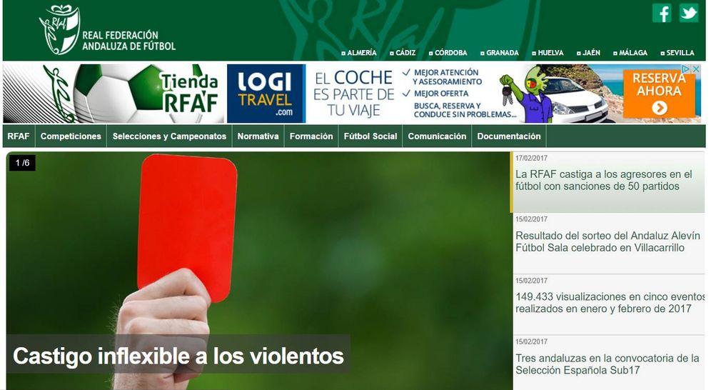 Foto: Web de la Federación Andaluza de Fútbol.