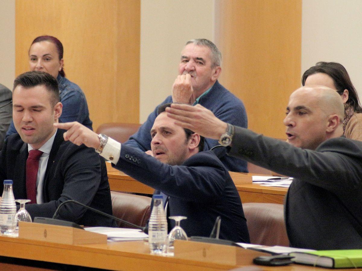 Foto: Imagen de archivo del pleno de la Asamblea de Ceuta. (EFE)