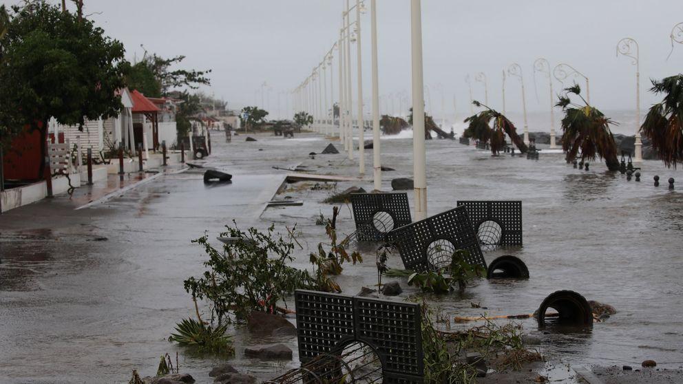 Los daños severos del huracán María