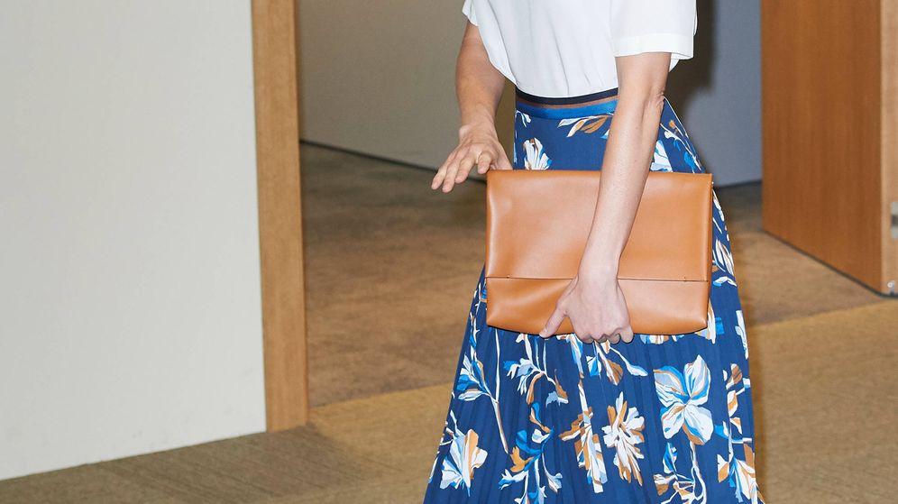 Foto: La reina Letizia durante el acto. (Limited Pictures)
