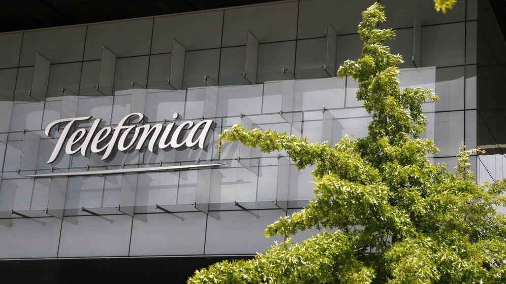 Foto:  Fachada de la sede corporativa de Telefónica (EFE)