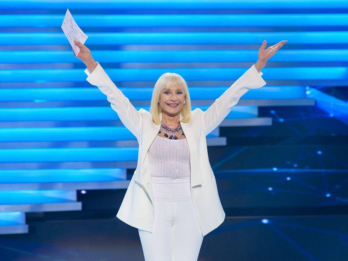 Foto: La presentadora Raffaella Carrà. (RTVE)