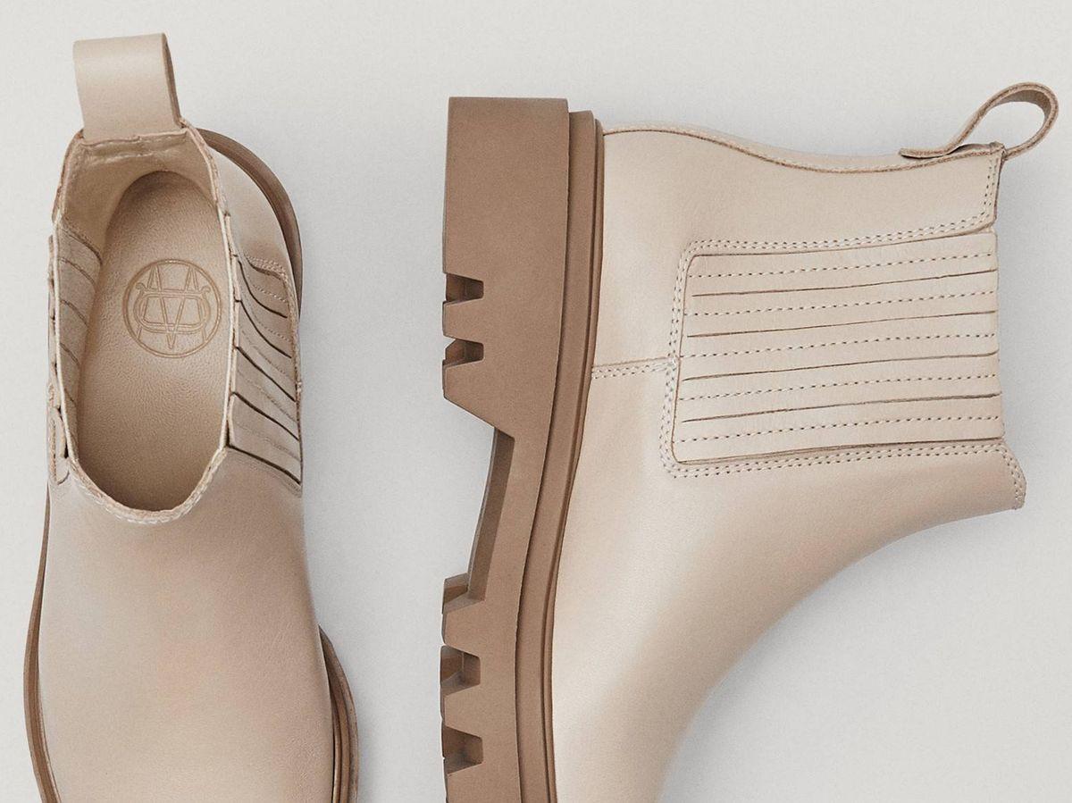 Foto: Botines de piel de Massimo Dutti aptos para la primavera. (Cortesía)