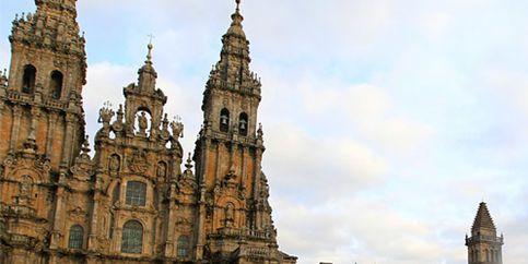 Las torres inclinadas de Santiago de Compostela