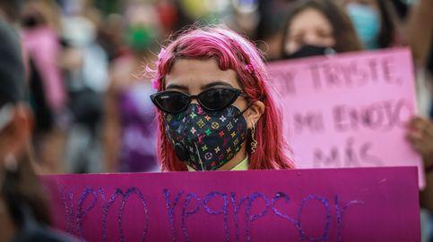 Feministas protestan tras el asesinato de niña en el puerto de Acapulco