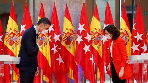 Ayuso-Sánchez, reyes en Cataluña
