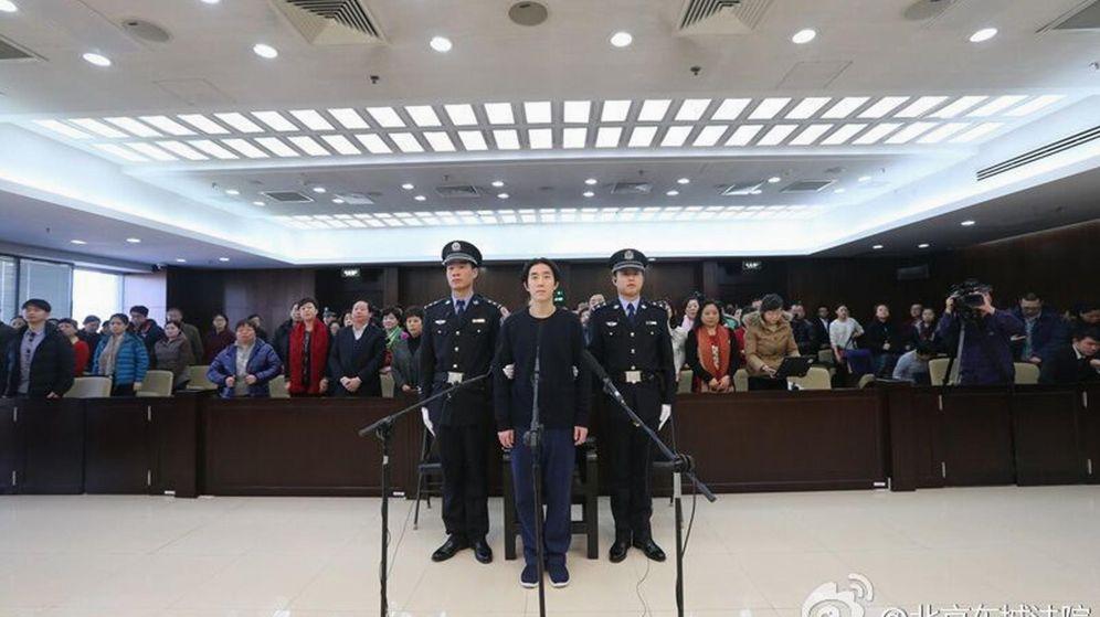 Foto: Un juicio en Pekín (Reuters).