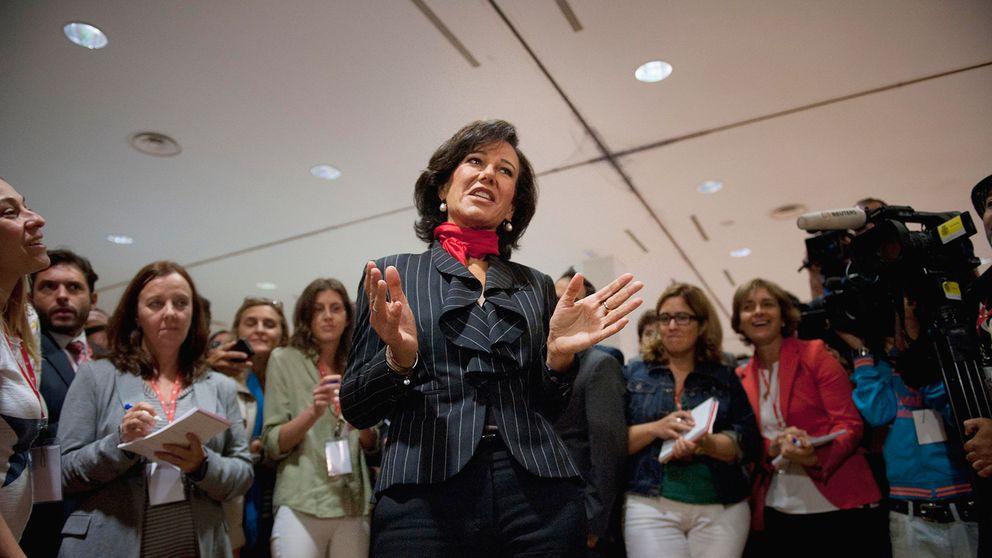 Foto: La presidenta del Banco Santander, Ana Patricia Botín (Reuters)