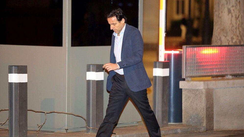 Foto: El exconsejero de OHL Javier López Madrid a su salida de la Audiencia Nacional. (EFE)