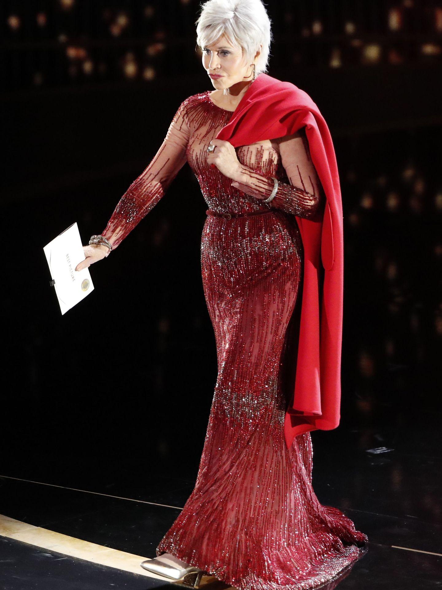 Jane Fonda, en los Oscar. (Reuters)