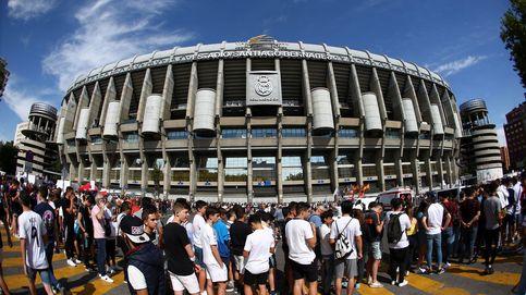 La presentación de Eden Hazard en directo: colas en el Bernabéu para ver al belga