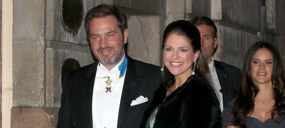 Foto: Chris y Magdalena en su último acto oficial celebrado en Suecia (Gtres)