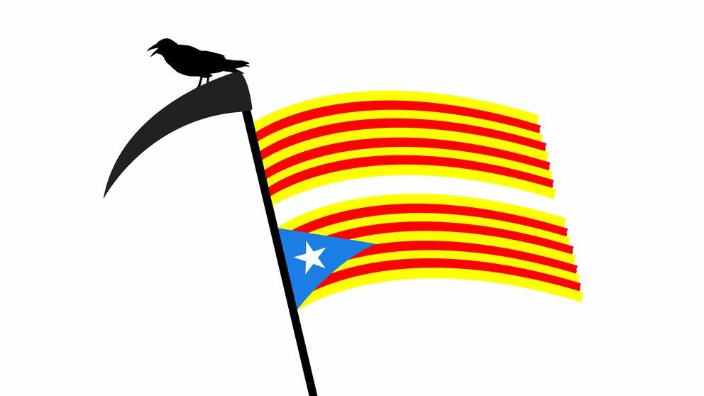"""27-S: """"¿Es verdad, papá, que los españoles robamos a los catalanes?"""""""