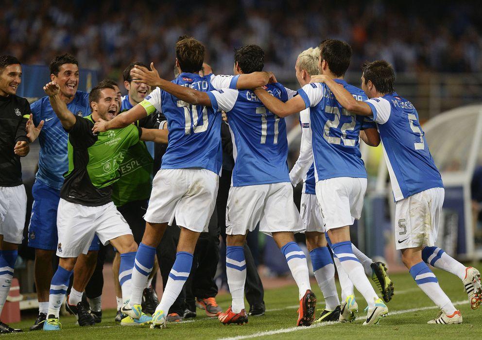 Real Sociedad La Real Sociedad Vuelve A Europa Por La