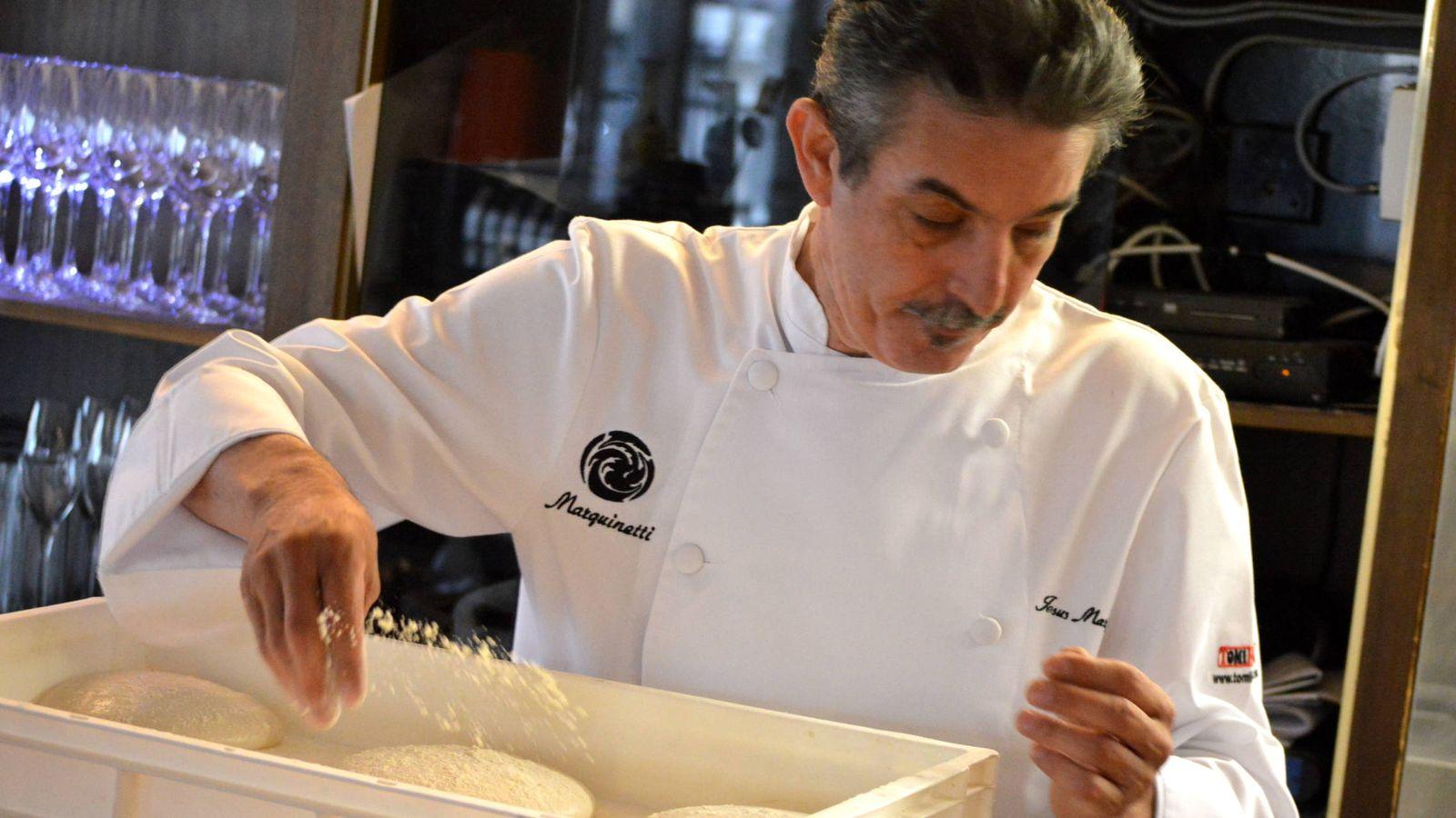 Foto: Jesús Marquina, el maestro de la pizza en España