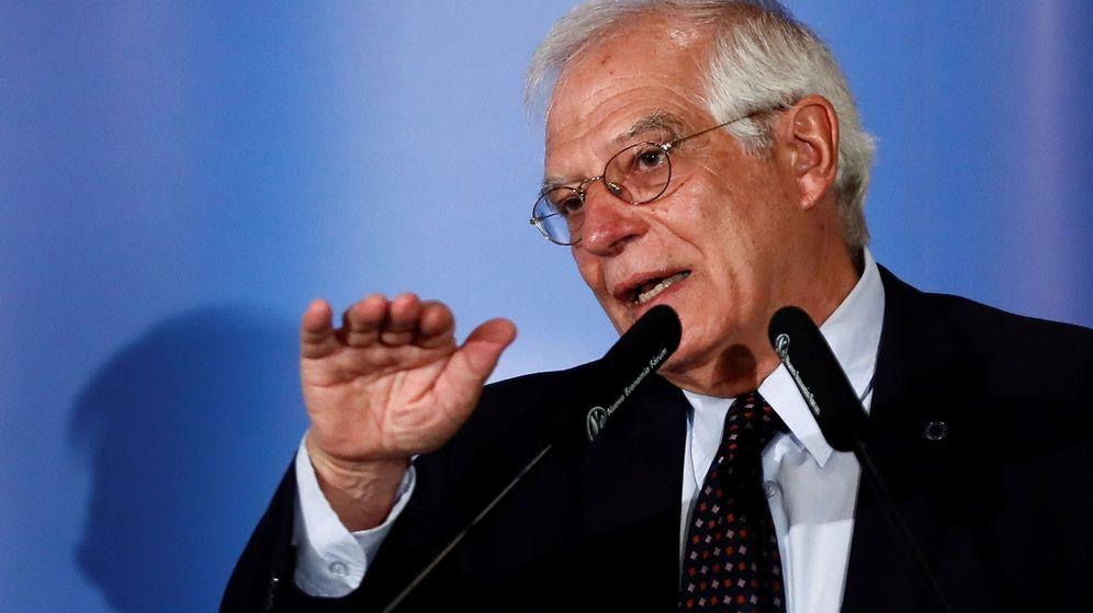 Foto: El titular de Asuntos Exteriores, Josep Borrell. (EFE)