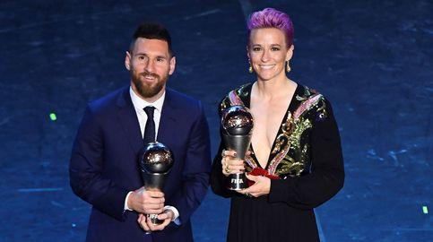 Leo Messi y Megan Rapinoe, dos formas distintas de aprovechar el The Best