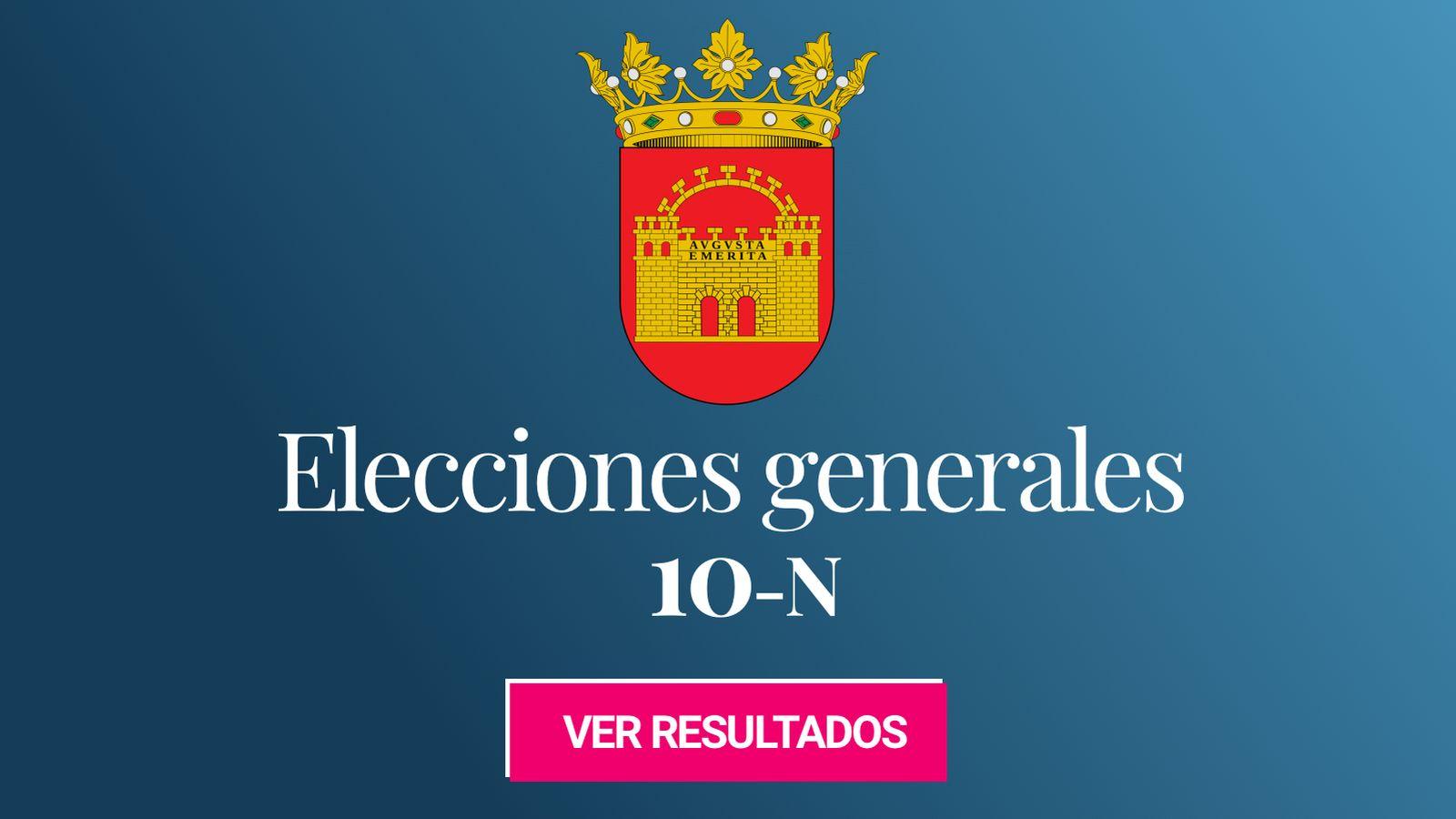 Foto: Elecciones generales 2019 en Mérida. (C.C./EC)