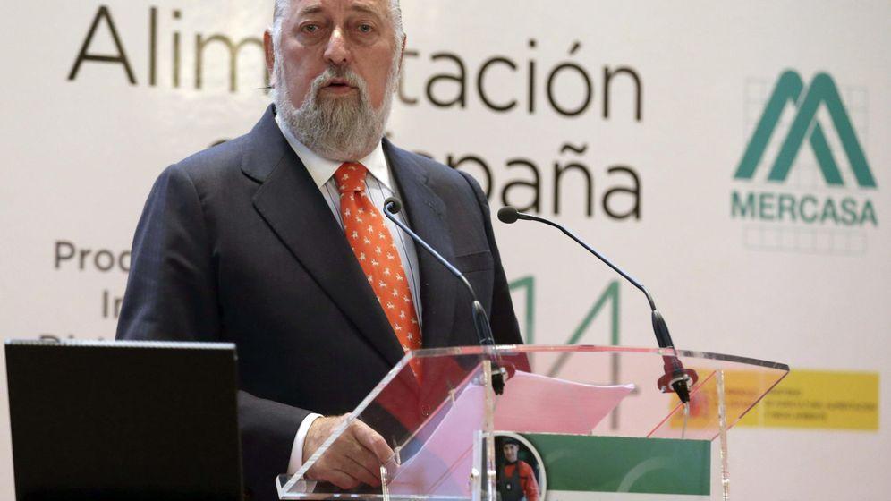 Foto: Eduardo Ameijide, hasta este viernes presidente de Mercasa. (EFE)